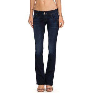 Hudson Signature Boot Cut Dark Wash Jeans Size 28